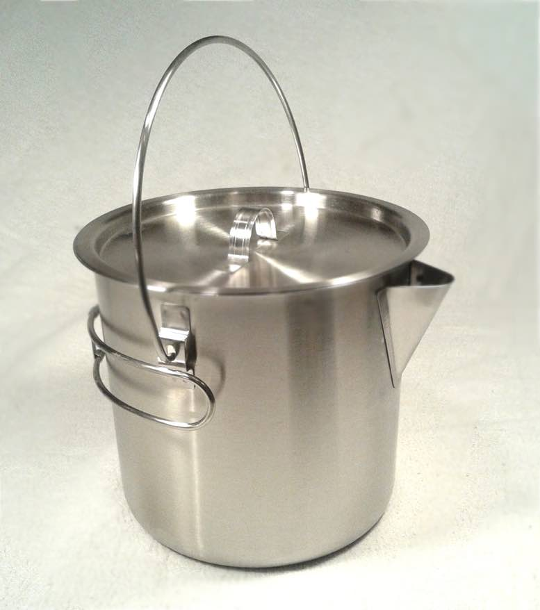 Cooking With A Kettle ~ Oz stainless camping pot cooking kettle storm