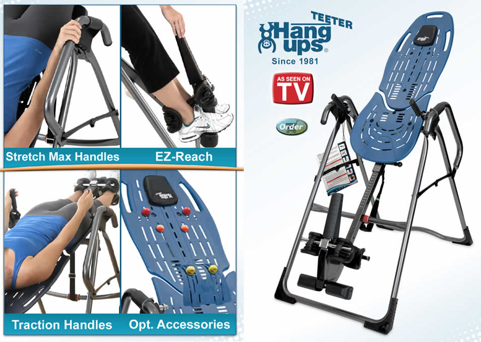 Teeter Inversion Table EP-960-Series Inversion Tables