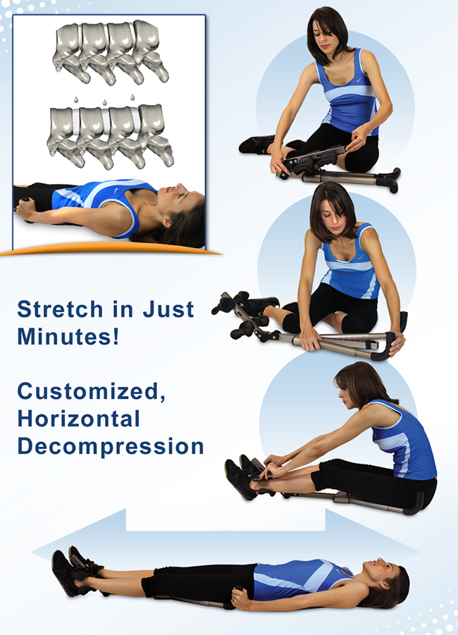 P3 Portable Back stretcher